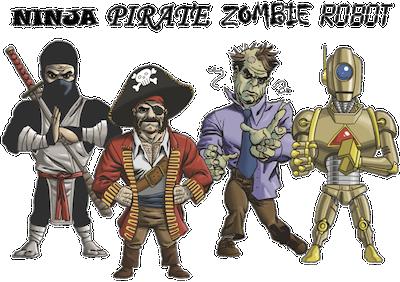 Ниндзя-пираты-зомби-роботы-2