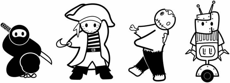 Ниндзя-пираты-зомби-роботы-3
